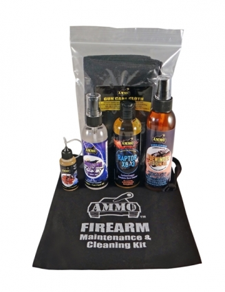 Firearm Care Kit with Free Bag!